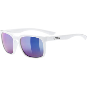 UVEX LGL 35 Colorvision Bike Glasses blue/white